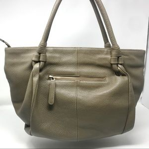 Givenchy Bags - Givenchy Taupe Wrapped Handle Hobo